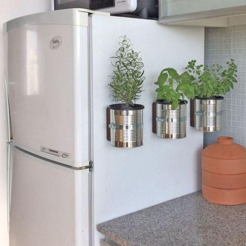 ideias decoracao vasos cozinha