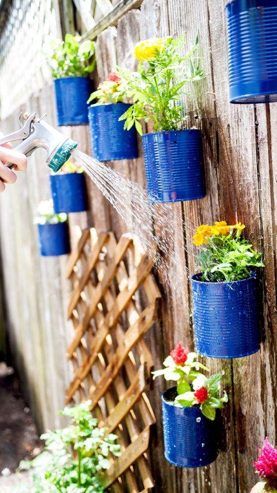 ideias decoracao vasos jardim