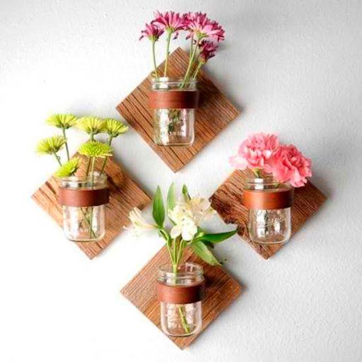 ideias decoracao vasos vidro 1