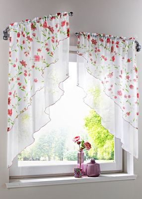 Como decorar janelas dicas e ideias - Que cortinas poner en la cocina ...