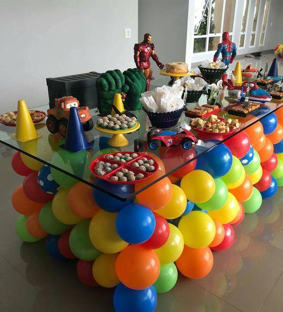 ideias dicas decoracao festa infantil baloes