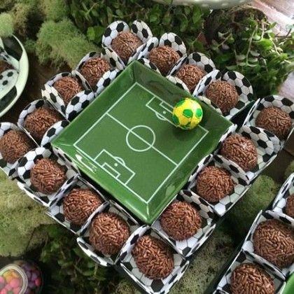 ideias dicas decoracao festa infantil futebol7