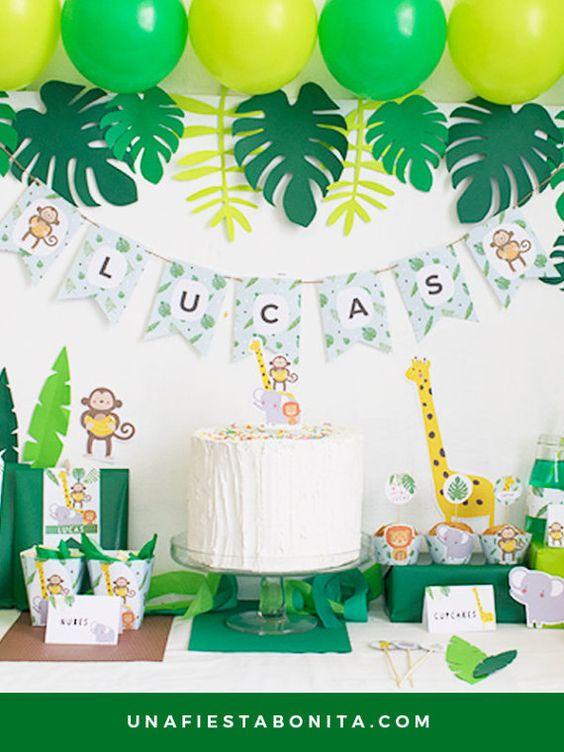 ideias dicas decoracao festa infantil selva