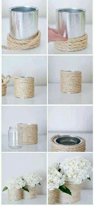 ideias diy decoracao latas 1