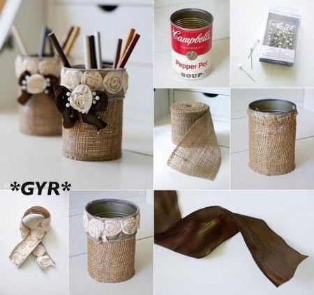 ideias diy decoracao latas 11
