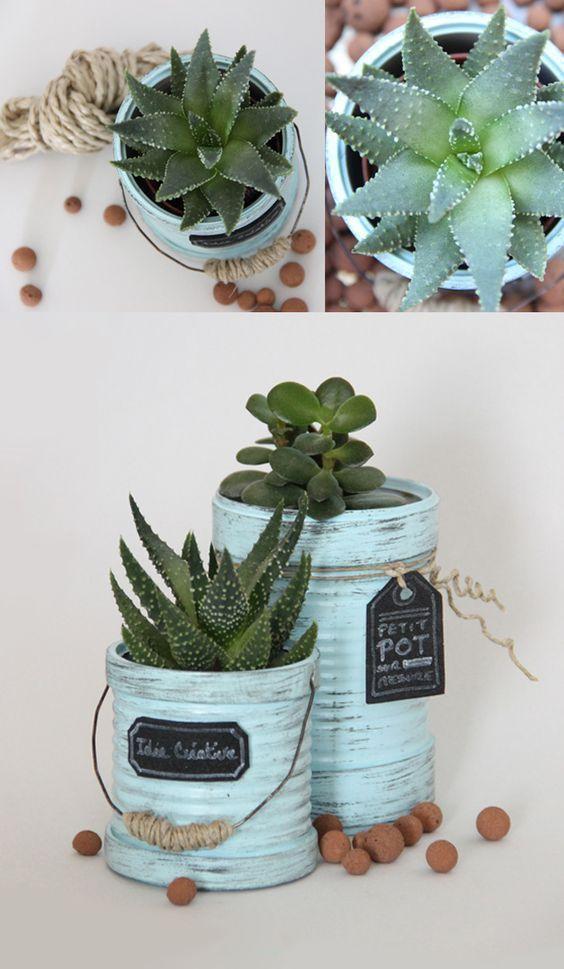 ideias diy decoracao latas 12