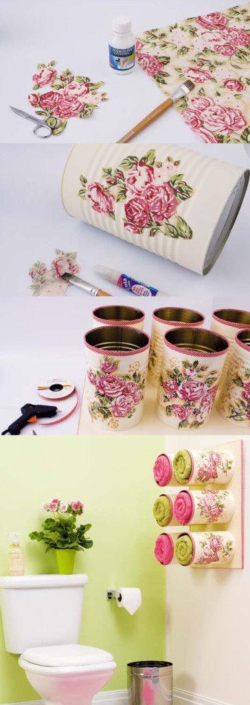 ideias diy decoracao latas 3