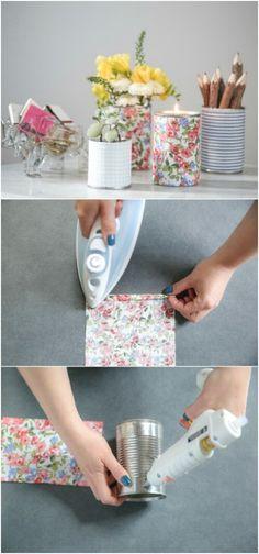 ideias diy decoracao latas 4