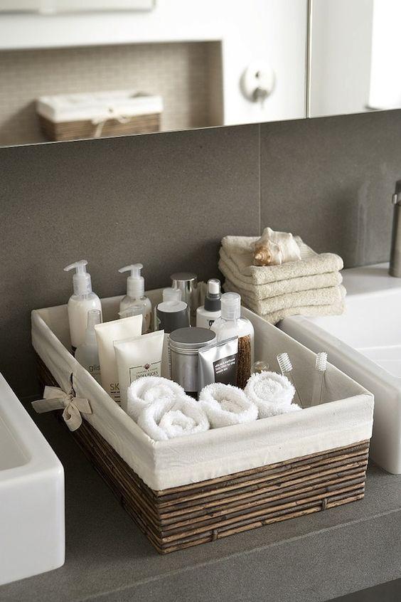 ideias organizar banheiro