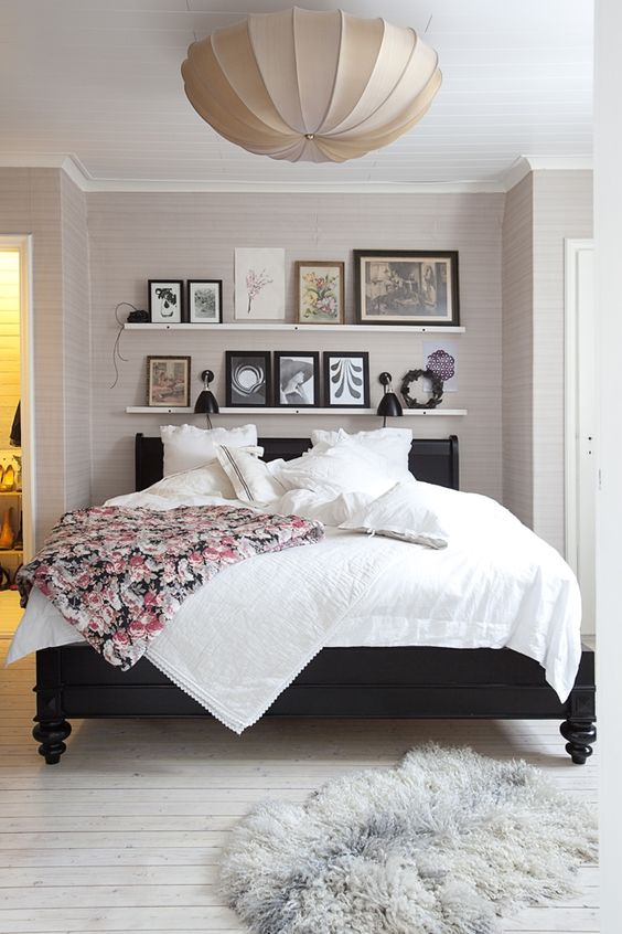 Como decorar o quarto de dormir for Black bed bedroom ideas