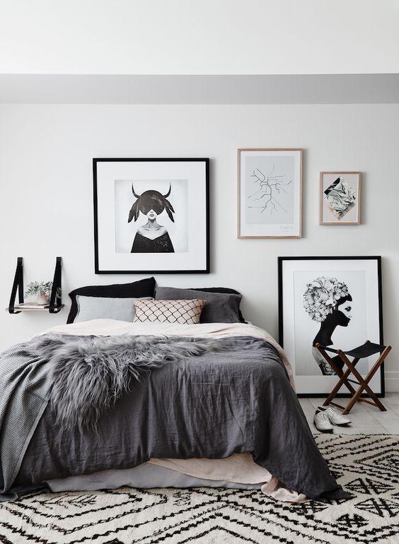 ideias para decorar quarto dormir