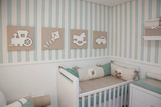 ideias quarto bebe decorado azul