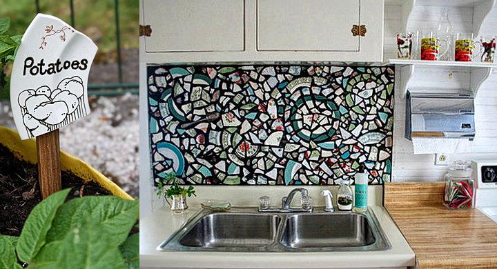ideias reciclar pratos antigos 10