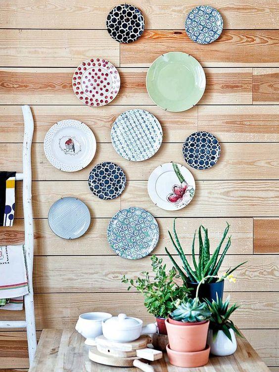 ideias reciclar pratos antigos 3