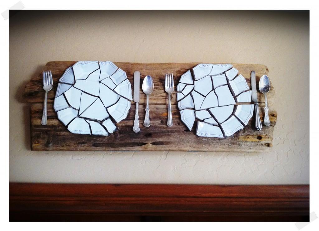 ideias reciclar pratos antigos 5