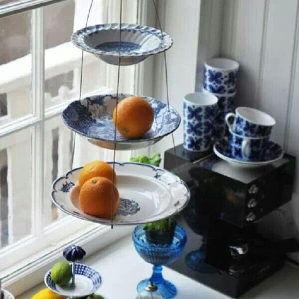 ideias reciclar pratos antigos 6