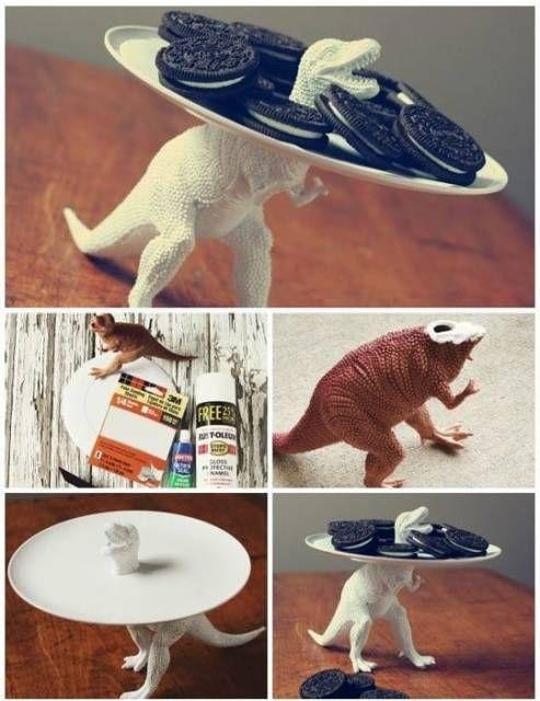 ideias reciclar pratos antigos 8