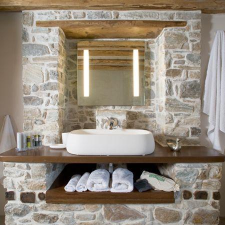 ideias rusticas decorar banheiro ideias 3