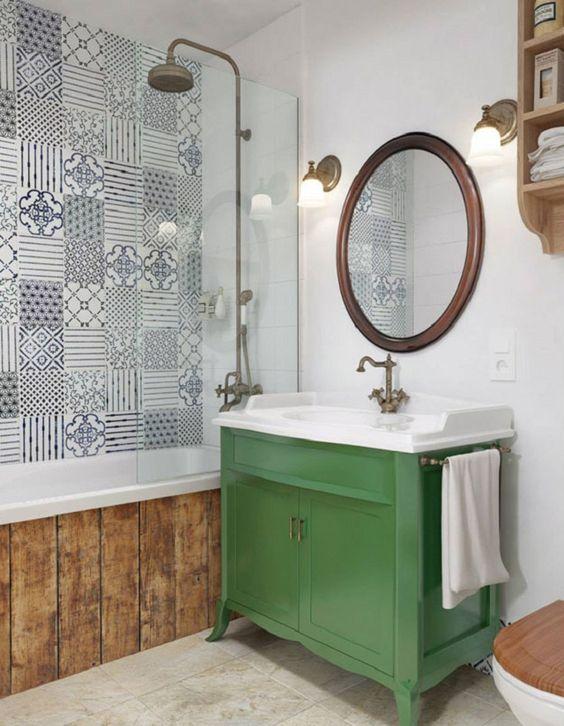 ideias rusticas decorar banheiro ideias