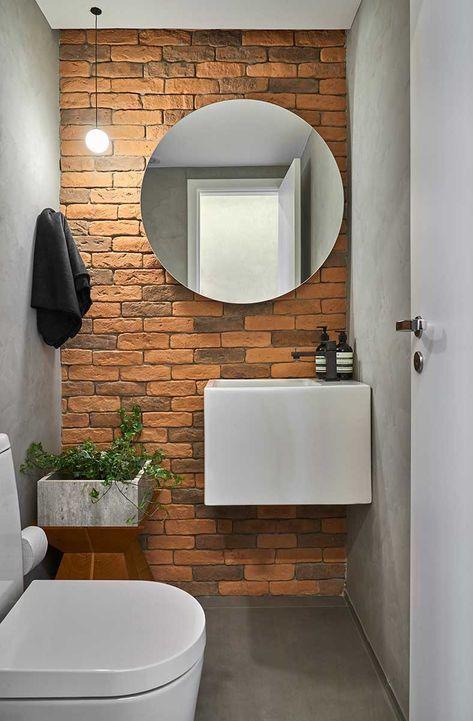 ideias rusticas decorar banheiro prateleiras gaveta