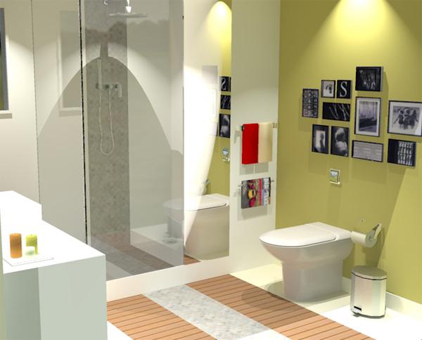 interiores casa banho