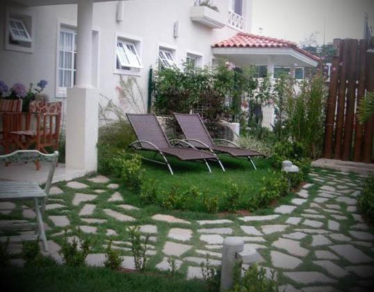 jardim decorado imagem