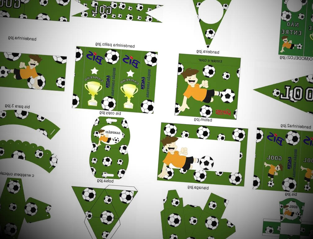 kit festa futebol
