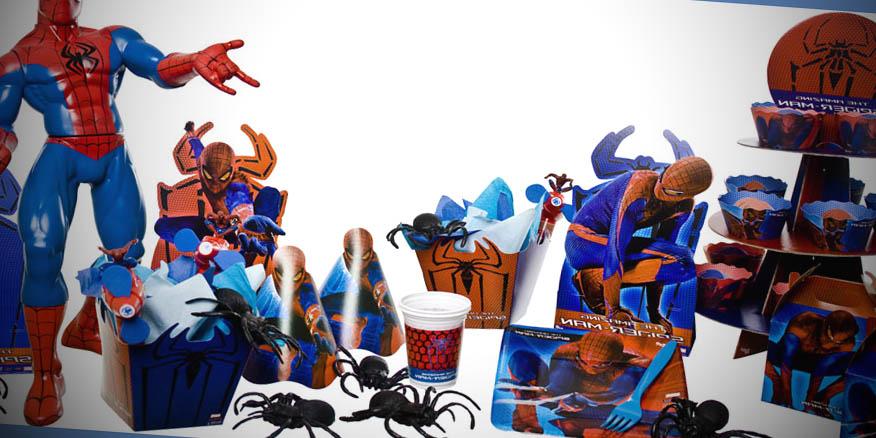 kit festa infantil homem aranha