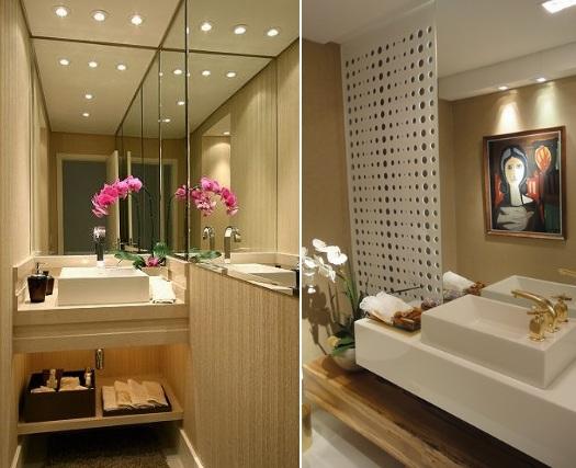 lavabo decorado pequeno