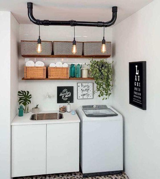 lavandaria pequena decorada 1