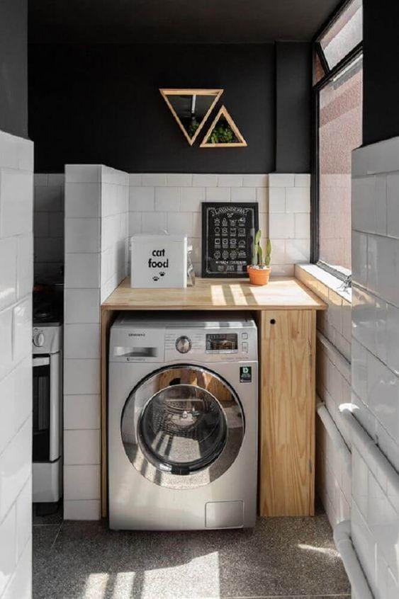 lavandaria pequena decorada 5