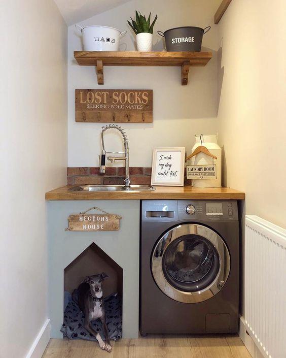 lavandaria pequena decorada 6