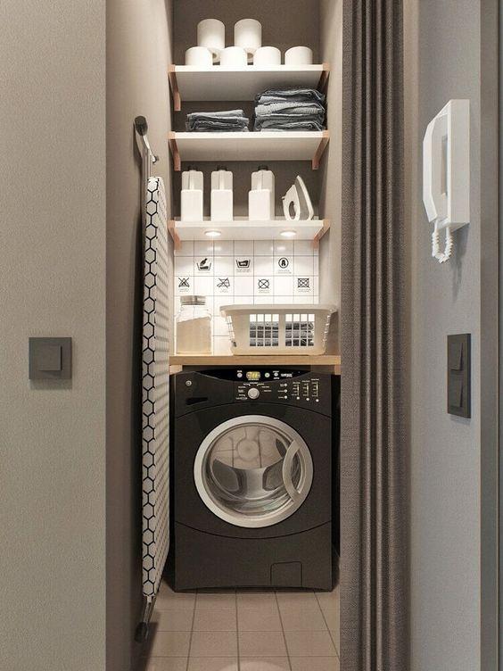 lavandaria pequena decorada 7