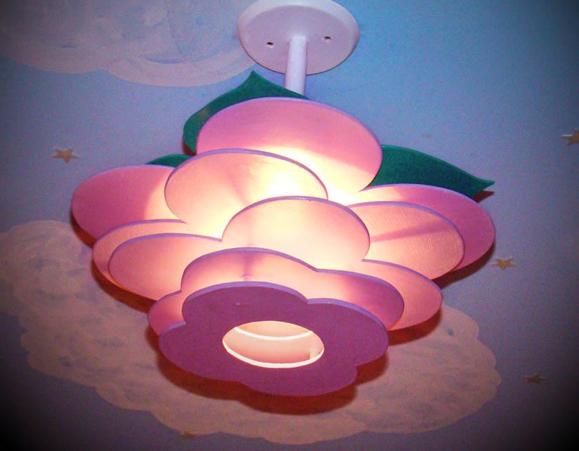 luminária de teto para quarto infantil