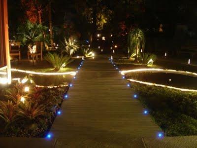 luminárias para jardim de chao