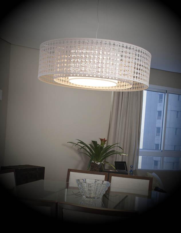luminaria para sala de jantar