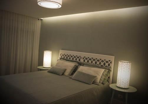 luminaria quarto casal