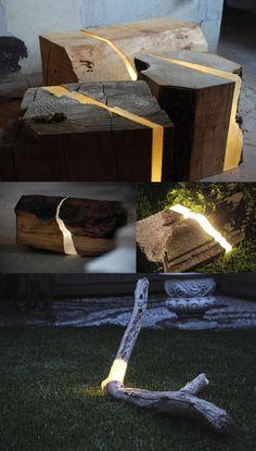 luminarias jardim 10