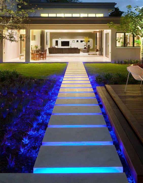 luminarias jardim 13