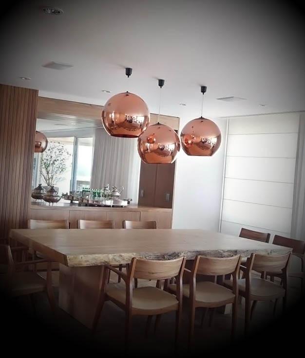 luminarias salas de jantar