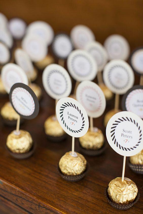 marcador mesa casamento