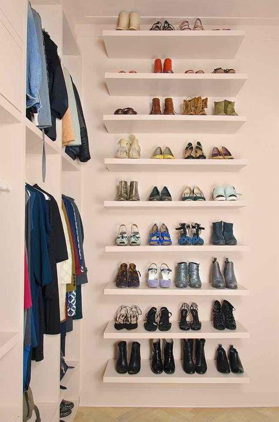 melhores ideias para organizar a sua roupa 3