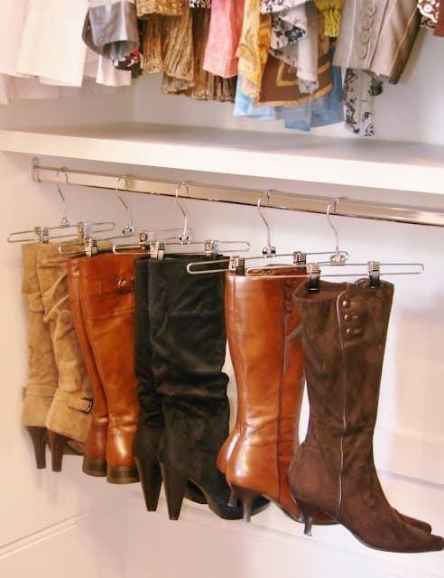 melhores ideias para organizar a sua roupa 4