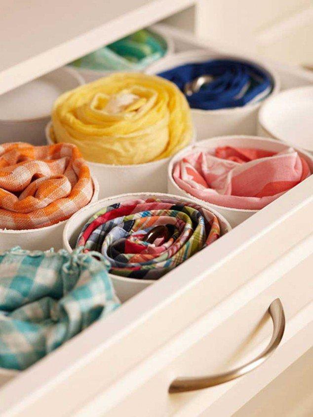 melhores ideias para organizar a sua roupa 9