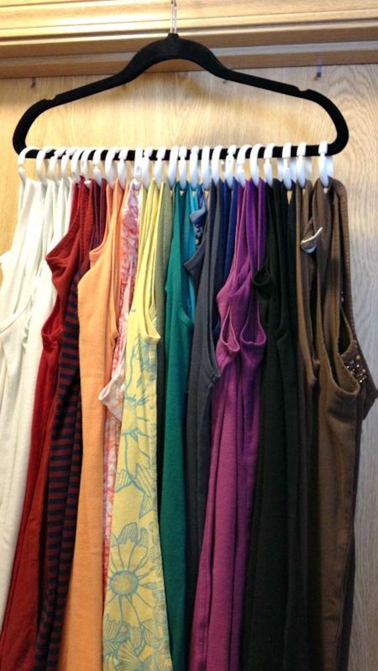 melhores ideias para organizar a sua roupa
