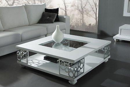mesa de centro de ferro