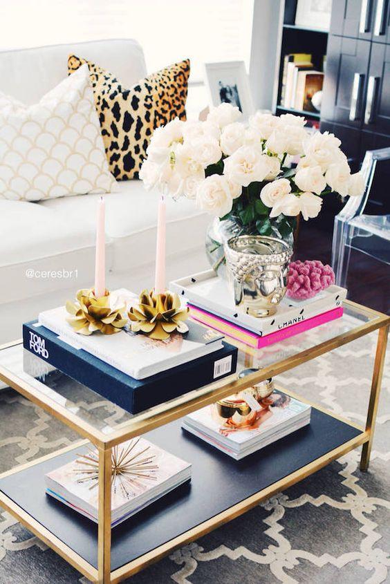 mesa de centro decorada 5