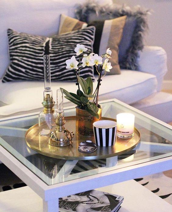 mesa de centro decorada 6