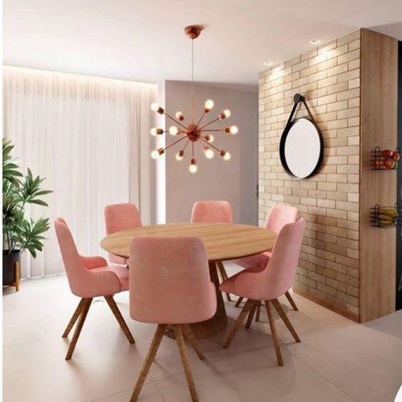mesa de jantar redonda 1
