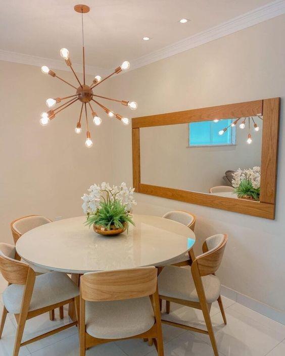 mesa de jantar redonda 2